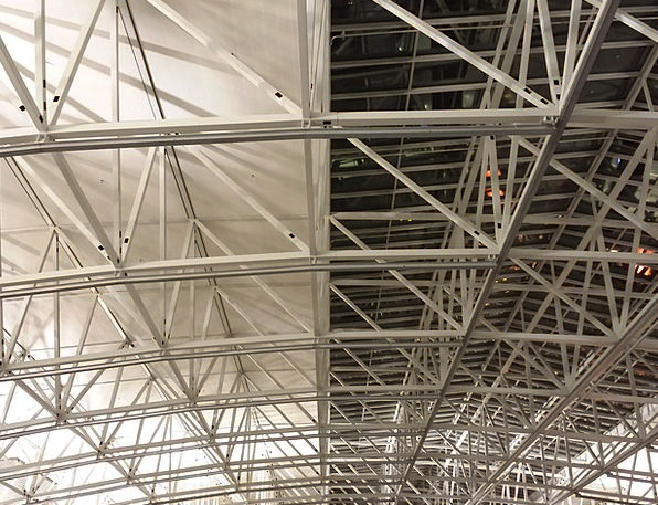 Roof Linkage Scaffold Support Metal Rods Airport A