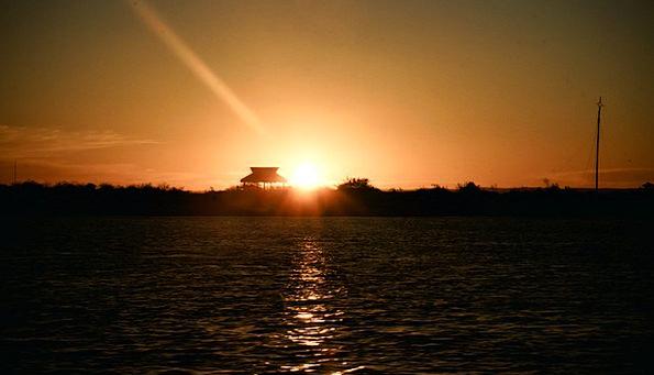 Sunset Sundown Vacation Marine Travel Ocean Sea Wa