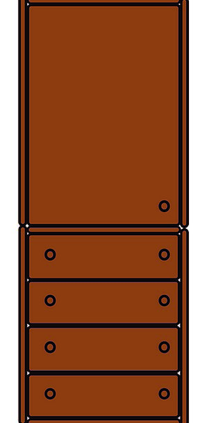 Wardrobe Clothing Buildings Architecture Cabinet C
