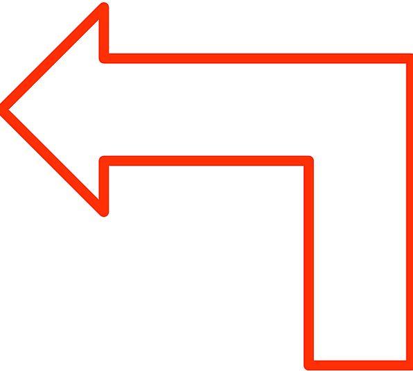 Arrow Missile Forms Flowchart Shapes White Diagram