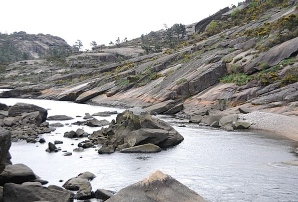 Galicia Vacation Travel Beach Seashore Ézaro Lands