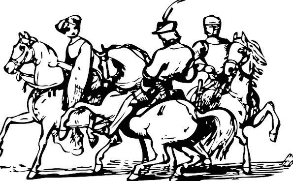 Horses Cattle Riders Provisos Horsemen Cavalry Mou