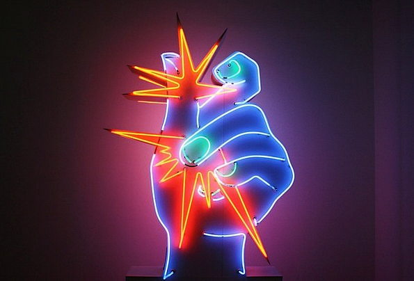 Raysse Modern Art Neon Pompidou