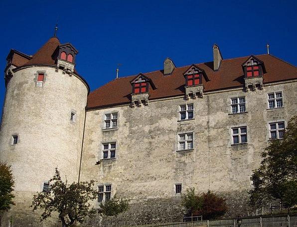 Gruyere Castle Buildings Architecture Castle Wall