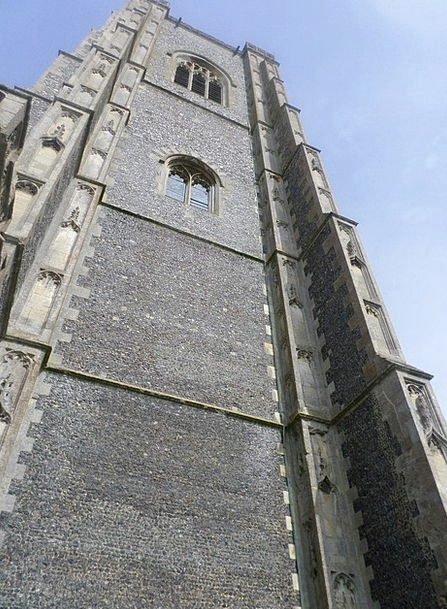Lavenham Church Buildings Architecture Tower Barbi