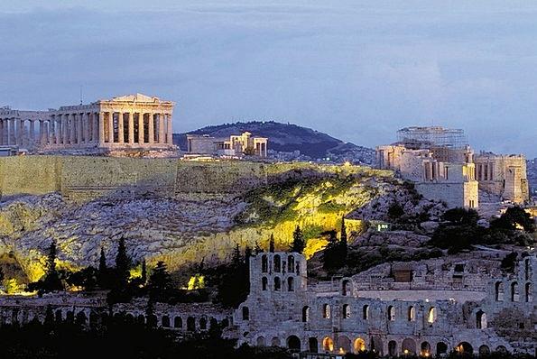Acropolis Athens Parthenon Greece Olympic Games