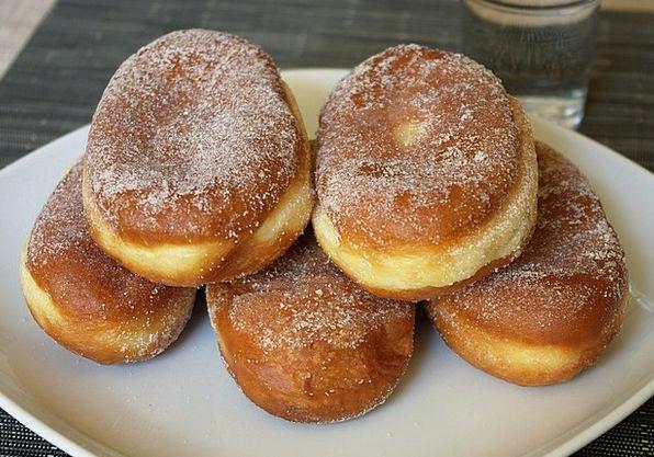 Donut Drink Food Dessert Pudding Sweet Dish Baked