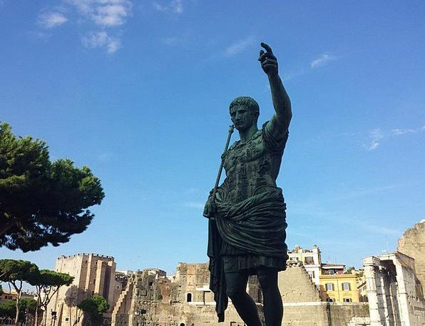 Rome Figurine Emperor Ruler Statue Ancient Rome