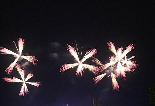 Fireworks Rockets Detonate Explosion Bang Explode