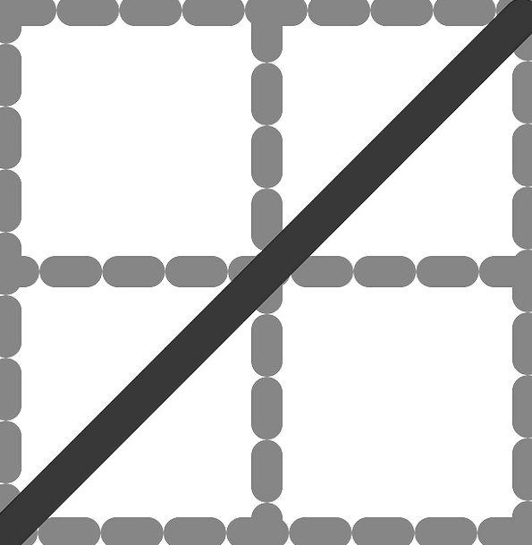Diagonal Slanting Streak Table Bench Line Grey Dig