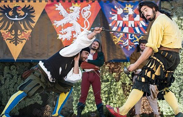 Fencer Contest Sword Blade Duel War Conflict Victo