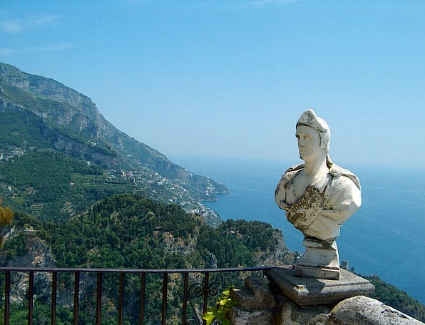 Fig Broken View Opinion Bust Amalfi Coast Ravello