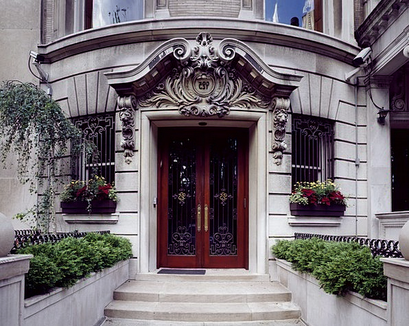 Doorway Entrance Buildings House Architecture New
