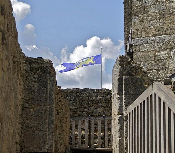 Dordogne Monuments Places Sky Blue France Summer C