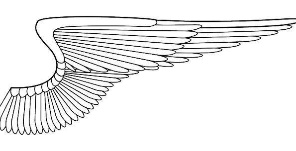 Angel Wings Seraph Wing Annex Angel Bird Fowl Free