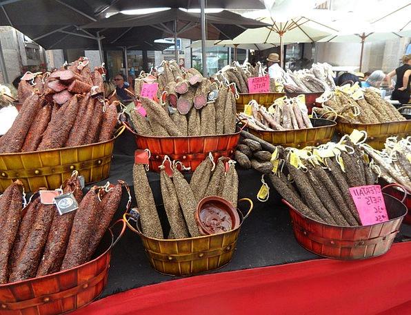 Cured Meats Market Marketplace Mediterranean Marke