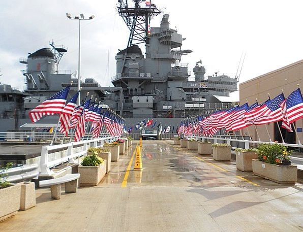Pearl Harbour Vessel Military Armed Ship