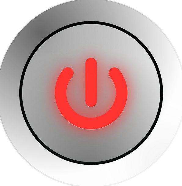 Power Button Communication Control Computer Button