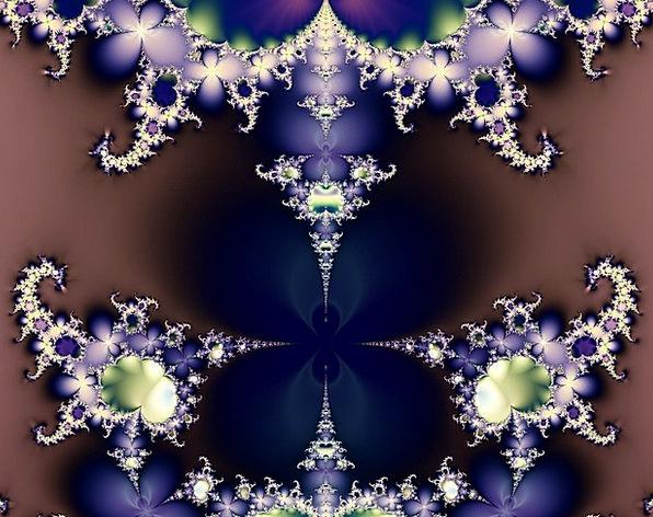 Fractal Abstract Nonconcrete Butterfly Design Proj