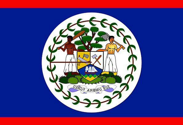 Belize Standard Country Republic Flag Nation State