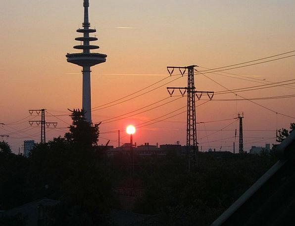 Bremen Vacation Sundown Travel Afterglow Warmth Su