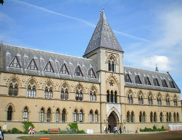 Oxford Muzeum England Buildings Structures Summer