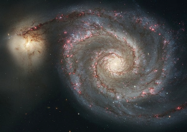 Whirlpool Galaxy Congregation Messier 51 Galaxy Ni