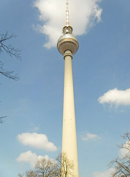 Tv Tower Vacation Travel Germany Berlin Tower Tour