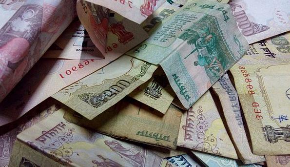 Rupees Finance Cash Business Indian Money Financia