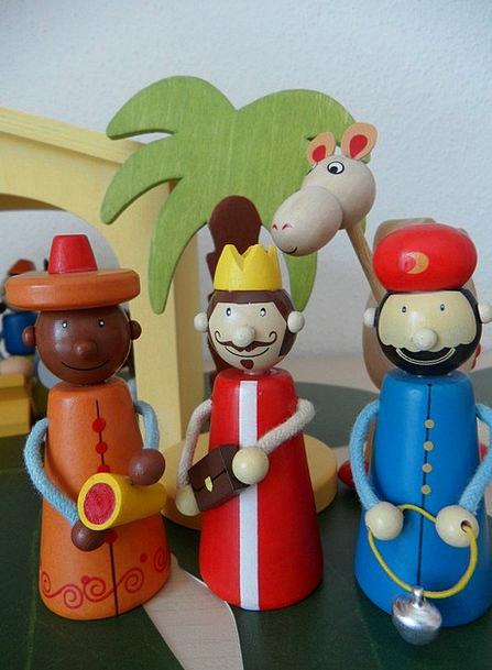 Crib Cheat Statistics Holy Three Kings Figures Kin