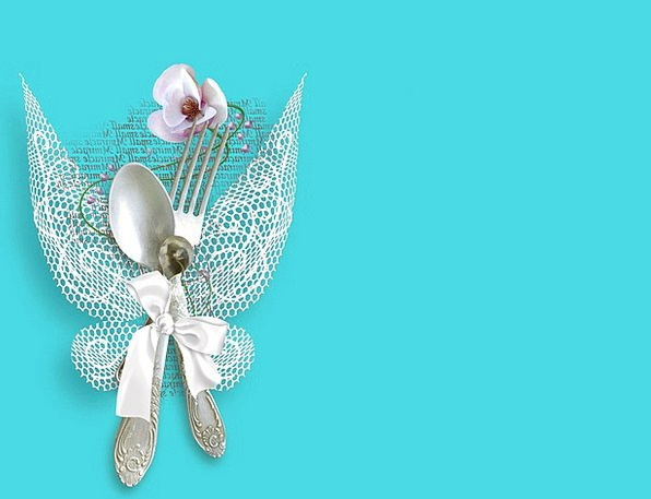Silverware Bridal White Snowy Wedding Wings Annexe