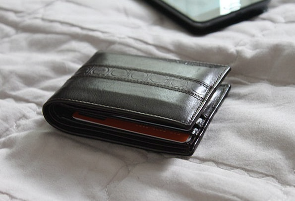Wallet Folder Skin Gift Talent Leather