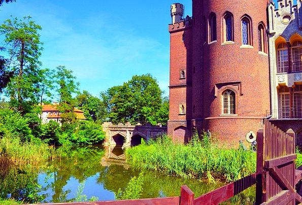 Kórnik Castle Buildings Fortress Architecture Towe