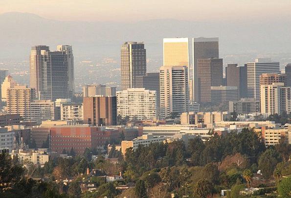 Los Angeles Buildings Horizon Architecture Buildin
