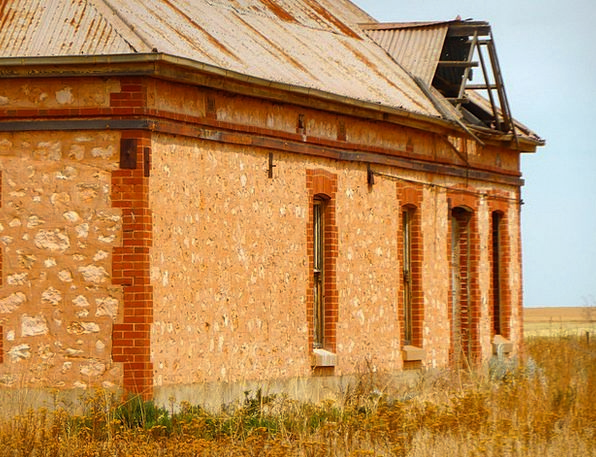 Derelict Dilapidated Buildings Wild Architecture H
