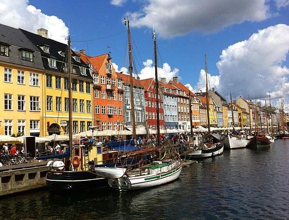 Copenhagen Buildings Architecture City Urban Denma