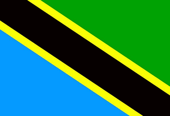 Tanzania Standard National Nationwide Flag Country