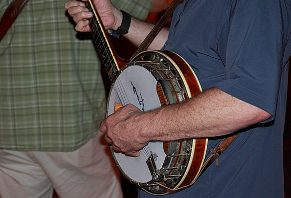 Banjo Melody Musician Performer Music Guitar Folk