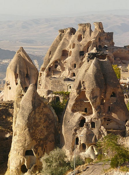 Fairy Chimneys Buildings Architecture Fairy Towers