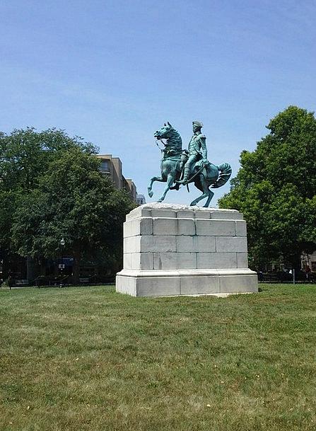 George Washington Monuments Creator Places Foundin