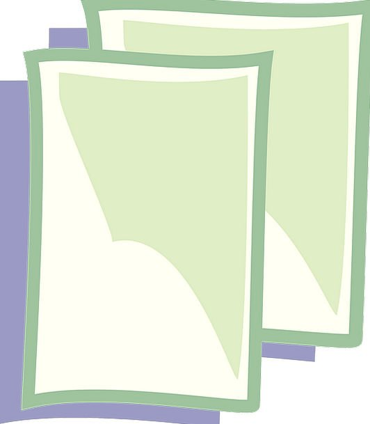 New Novel Newspaper Document Text Paper Sign Symbo