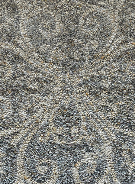 Mosaic Medley Stone Pebble Stone Mosaic Stone Floo