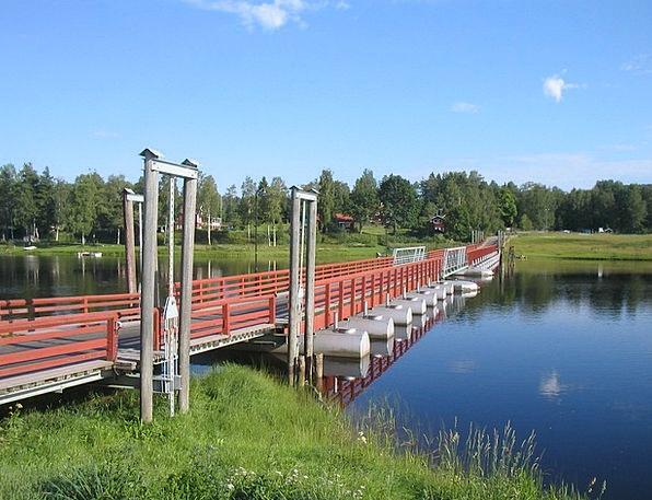The Valleys Landscapes Nature Pontoon Bridge Gagne
