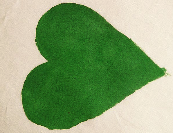 Heart Emotion Green Lime Herzchen Love Darling Rom