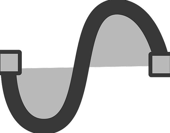 Vector Course Sinusoidal Sinus Curve Arc Trigonome