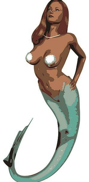 Mermaid Physical Fantasy Imaginary Animal Myth Wom