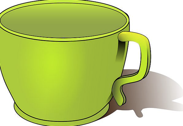 Cup Green Mug Lime Emerald Drinking Empty Containe