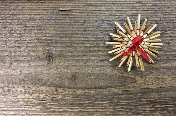 Strohstern Decoration Beautification Christmas Chr