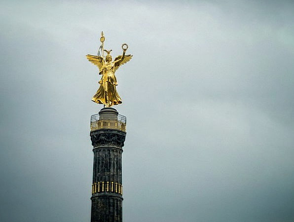 Berlin Monuments Places Gold Else Siegessäule Plac