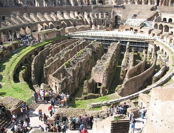 Roman Classical Buildings Architecture Amphitheatr